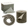 Absorbent barriers, pads & rolls