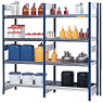 Shelving for hazardous substances